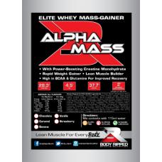 ALPHA MASS Elite Whey Mass Gainer - Single Serve
