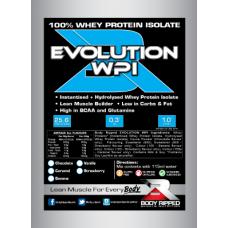 EVOLUTION WPI 100% Whey Protein Isolate - Single Serve