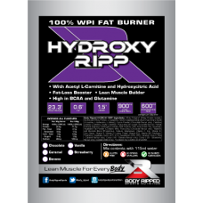 HYDROXY RIPP 100% WPI Fat Burner - Single Serve