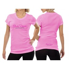 Ladies T-Shirt Pink - Horizontal Logo
