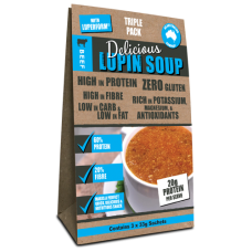 Beef Lupin Soup - Triple-Pack